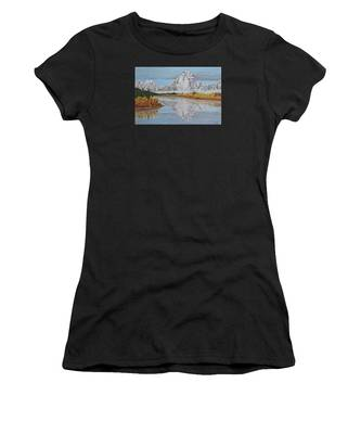 Early Snowfall At Oxbow Women's T-Shirt