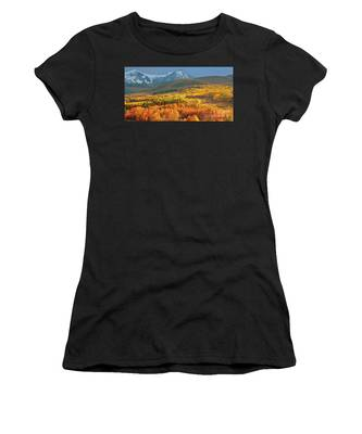 Evening Aspen Women's T-Shirt