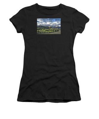 First Light On The Sneffels Range Women's T-Shirt