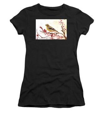 Happy Goldfinch Women's T-Shirt