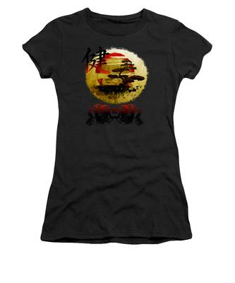Women's T-Shirt featuring the photograph Health Oriental Symbol by Robert G Kernodle