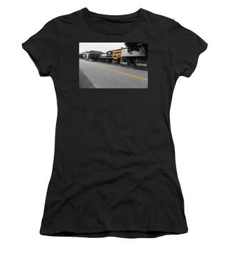 Historic Buford In Selective Color Women's T-Shirt