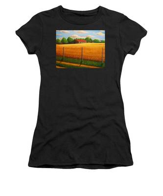 Home On The Farm Women's T-Shirt