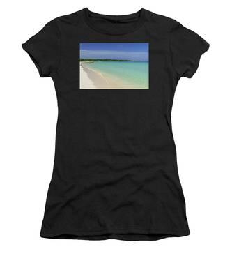 Seven Mile Beach, Negril Women's T-Shirt
