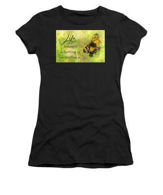 Life Is A Balance Women's T-Shirt