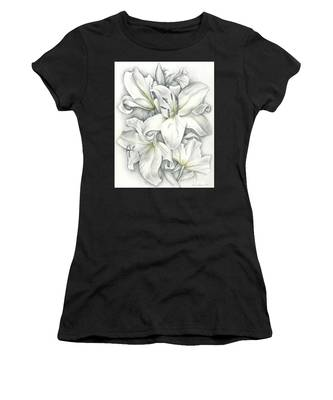 Lilies Pencil Women's T-Shirt