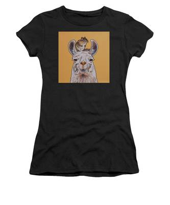 Llois The Llama Women's T-Shirt