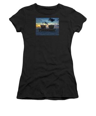 Lounge For Two Women's T-Shirt