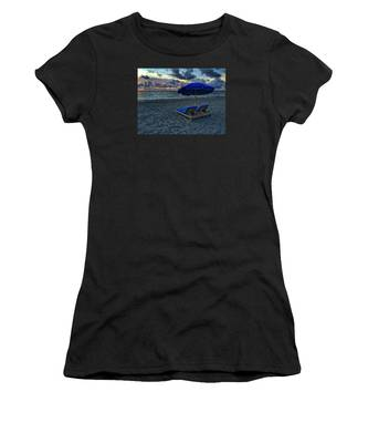 Lounging By The Sea Women's T-Shirt