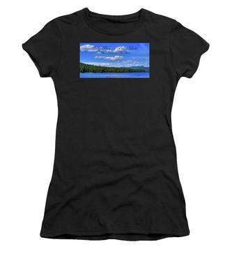 Luby Bay On Priest Lake Women's T-Shirt
