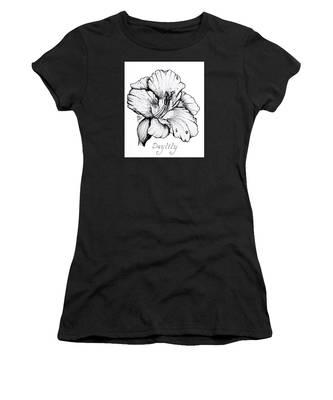 Luscious Daylily  Women's T-Shirt
