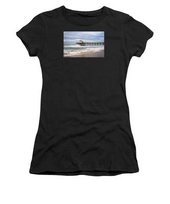 Manhattan Pier With Two Tankers Women's T-Shirt