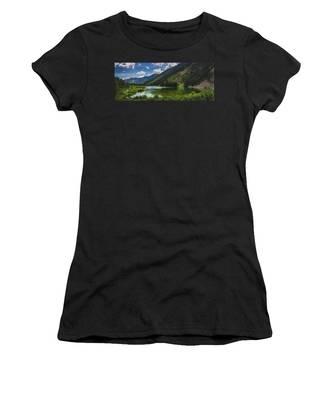 Maroon Lake Panorama Women's T-Shirt