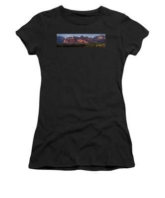 Mescal Mountain Panorama Women's T-Shirt