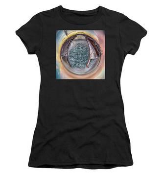 Milwaukee River Little Planet Women's T-Shirt