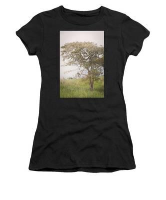 Misty Landscape Women's T-Shirt