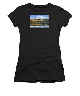 Mountain Lake Reflection Women's T-Shirt