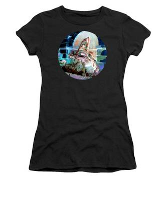 Women's T-Shirt featuring the photograph Neptune Nymph 3 by Robert G Kernodle