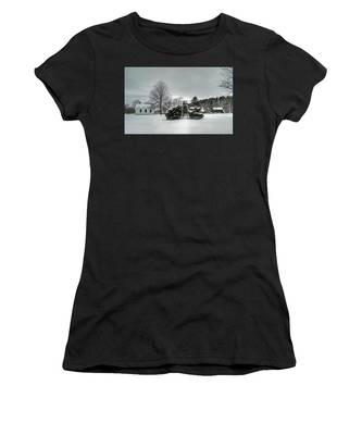 Newbury Lower Green Women's T-Shirt