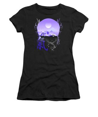 Women's T-Shirt featuring the photograph Night Qi by Robert G Kernodle