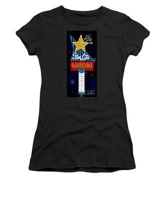 Nightclub Sign Starlite Lounge Women's T-Shirt