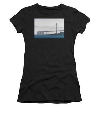 Oakland Bay Bridge Women's T-Shirt
