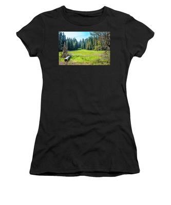 Open Meadow- Women's T-Shirt