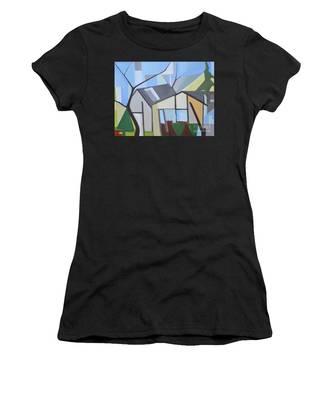 Out Back Down Oakwood Women's T-Shirt