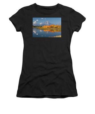 Oxbow Bend Reflection Women's T-Shirt