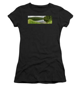 Panorama Liebesbankweg, Harz Women's T-Shirt