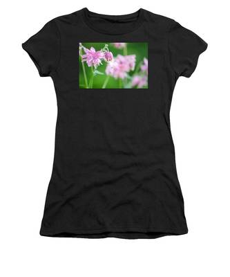 Pink Columbine Women's T-Shirt