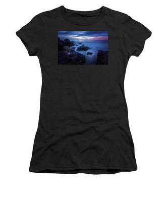 Point Dume Rock Formations Women's T-Shirt