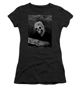 Portrait Of A Zombie Women's T-Shirt