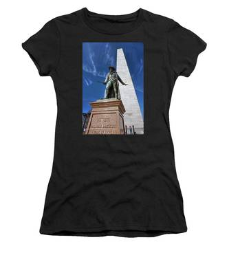 Prescott Statue On Bunker Hill Women's T-Shirt