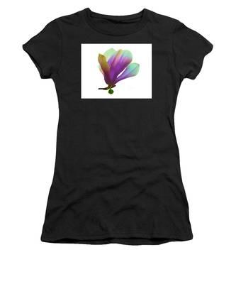 Purple Magnolia Women's T-Shirt