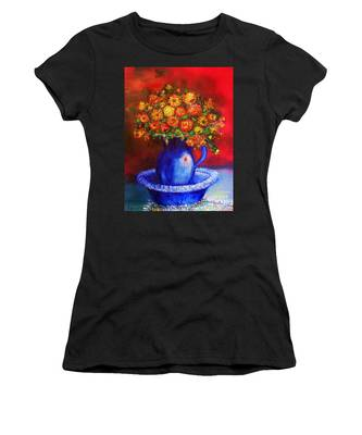 Women's T-Shirt featuring the photograph Rags by Laurie Lundquist