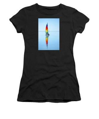 Rainbow Catamaran Women's T-Shirt