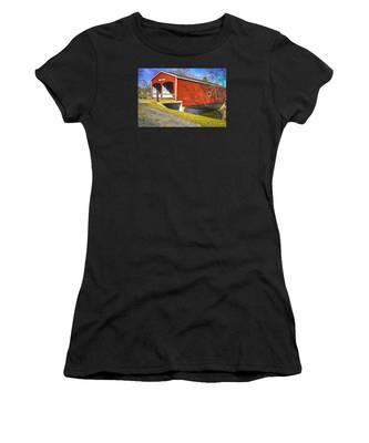 Roberts Covered Bridge Women's T-Shirt