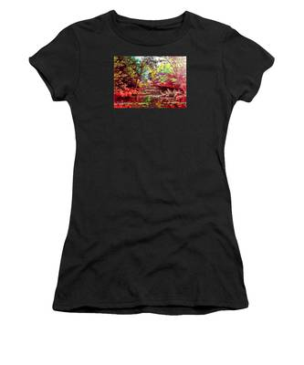 Rocky Rainbow River Women's T-Shirt