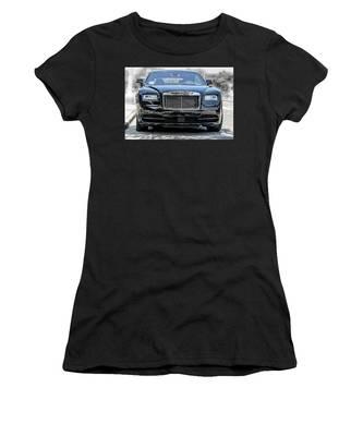 Rolls - Royce Wraith Coupe 2016 Women's T-Shirt