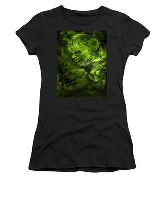 Scary Moon Women's T-Shirt