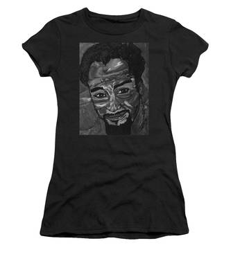 Shane In Black And White Women's T-Shirt