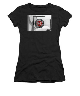 Sinclair Gasoline Round Sign In Selective Color Women's T-Shirt