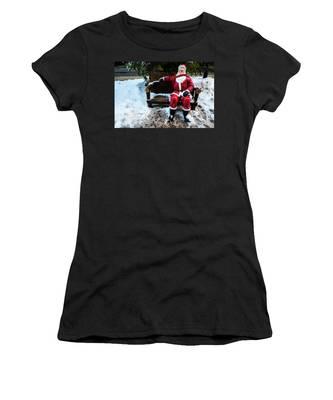 Sit With Santa Women's T-Shirt