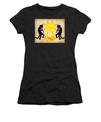 Solar Feline Entity Women's T-Shirt
