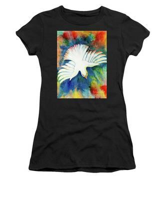 Spirit Fire Women's T-Shirt by Nancy Cupp