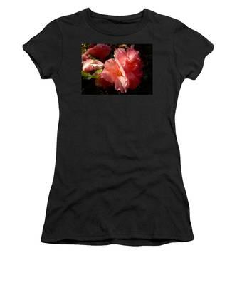 Splash Of Begonia Women's T-Shirt