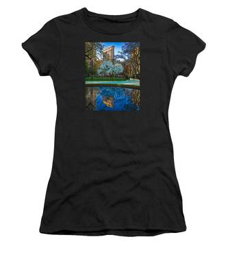 Women's T-Shirt featuring the photograph Spring In Madison Square Park by Chris Lord