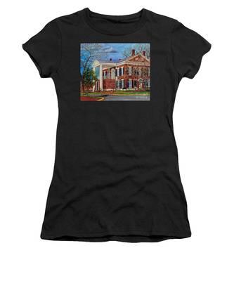 Spring Planting At The Dahlonega Gold Museum Women's T-Shirt