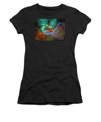 Spring Riot - Abstract Art Women's T-Shirt